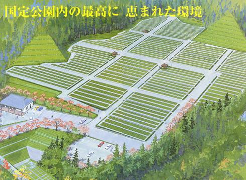 新大佛霊園マップ