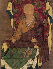 興正菩薩画像(鎌倉時代)