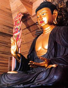 東大寺・大仏如来像(鎌倉時代快慶作)
